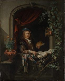 Self Portrait | Gerrit Dou | Oil Painting
