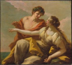 Bacchus and Ariadne | Giovanni Antonio Pellegrini | Oil Painting
