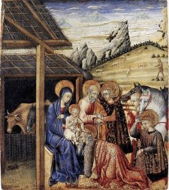 The Adoration of the Magi | Giovanni di Paolo | Oil Painting