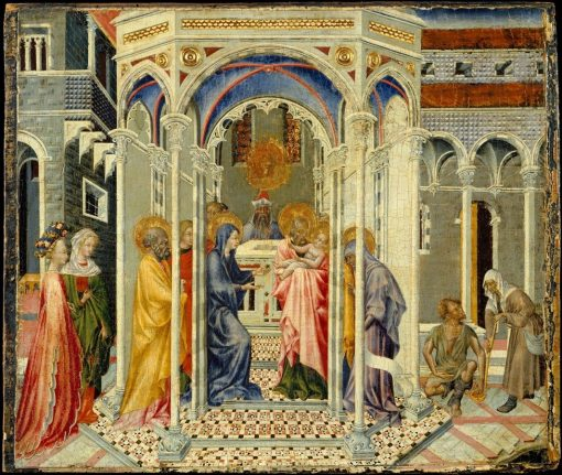 The Presentation of Christ in the Temple | Giovanni di Paolo | Oil Painting