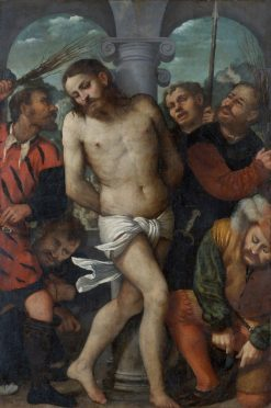 The Flagellation | Girolamo Romanino | Oil Painting