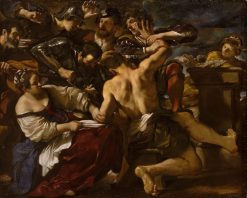 Samson Captured by the Philistines | Guercino | Oil Painting