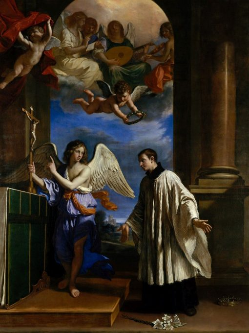 The Vocation of Saint Aloysius | Guercino | Oil Painting