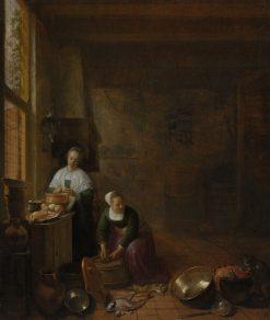 A Kitchen | Hendrik Martensz. Sorgh | Oil Painting