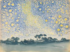 Landscape with Stars | Henri Edmond Cross | Oil Painting