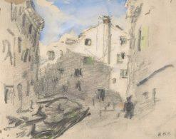 Venetian Street Scene | Hercules Brabazon Brabazon | Oil Painting