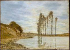 View of the Seine: Harp of the Winds | Homer Dodge Martin | Oil Painting