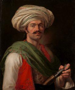 Portrait of Mameluke