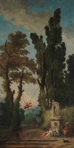 The Swing | Hubert Robert | Oil Painting