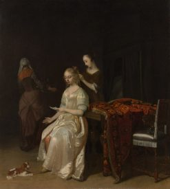 The Love Letter | Jacob Ochtervelt | Oil Painting