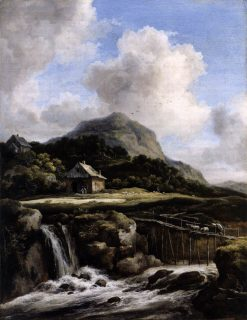 Mountain Torrent | Jacob van Ruisdael | Oil Painting