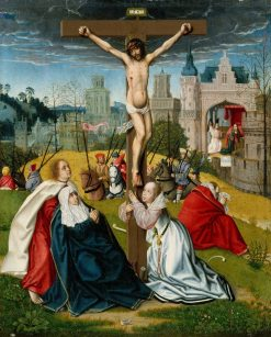 The Crucifixion | Jan Provoost | Oil Painting
