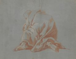 Study of a Draped Figure | Jean Francois de Troy | Oil Painting