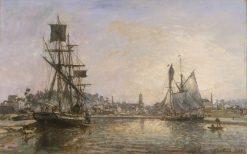 Honfleur | Johan Barthold Jongkind | Oil Painting