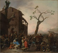 Peasants Dancing | Johannes Lingelbach | Oil Painting