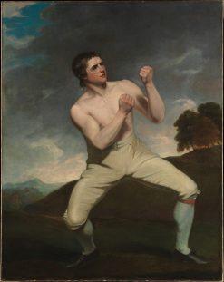 The Boxer (Richard Humphreys) | John Hoppner | Oil Painting