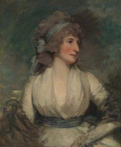 Portrait of a Woman   John Hoppner   Oil Painting