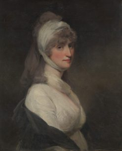 Mrs Thomas Pechell (Charlotte Clavering)   John Hoppner   Oil Painting