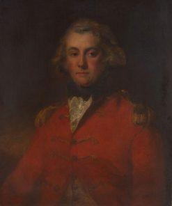 Major Thomas Pechell   John Hoppner   Oil Painting