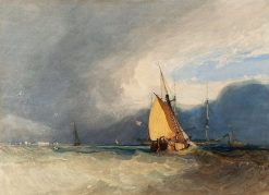 Boats off the Coast