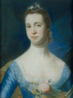 Mrs. Edward Green (Mary Storer) | John Singleton Copley | Oil Painting