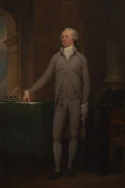 Alexander Hamilton | John Trumbull | Oil Painting