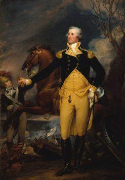 George Washington before the Battle of Trenton | John Trumbull | Oil Painting