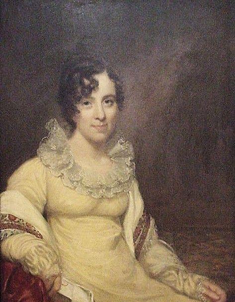 Ellen Vanderpoel McCoy   John Wesley Jarvis   Oil Painting