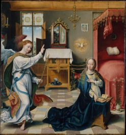 The Annunciation | Joos van Cleve | Oil Painting