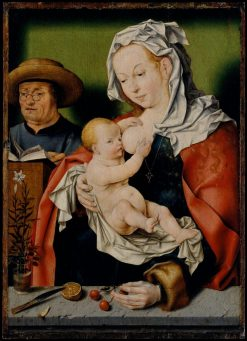 The Holy Family | Joos van Cleve | Oil Painting