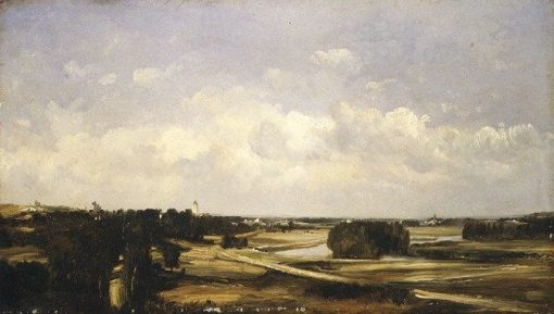 Valley of the River Loire | Jules DuprE | Oil Painting