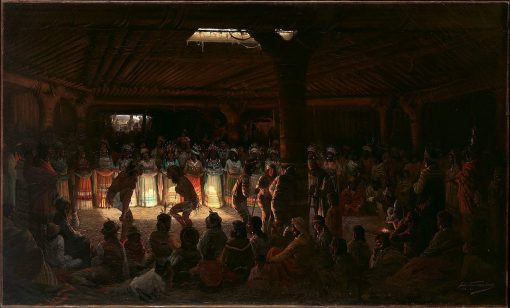 Dances at the Subterranean Roundhouse at Clear Lake