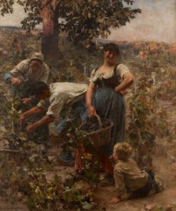The Grape Harvest | LEon Augustin Lhermitte | Oil Painting
