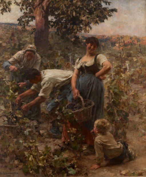 The Grape Harvest | LEon Augustin Lhermitte | Oil Painting