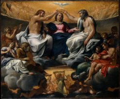 The Coronation of the Virgin | Lodovico Carracci | Oil Painting