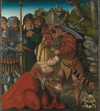 The Martydom of Saint Barbara | Lucas Cranach the Elder | Oil Painting