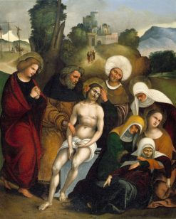 The Lamentation | Ludovico Mazzolino | Oil Painting