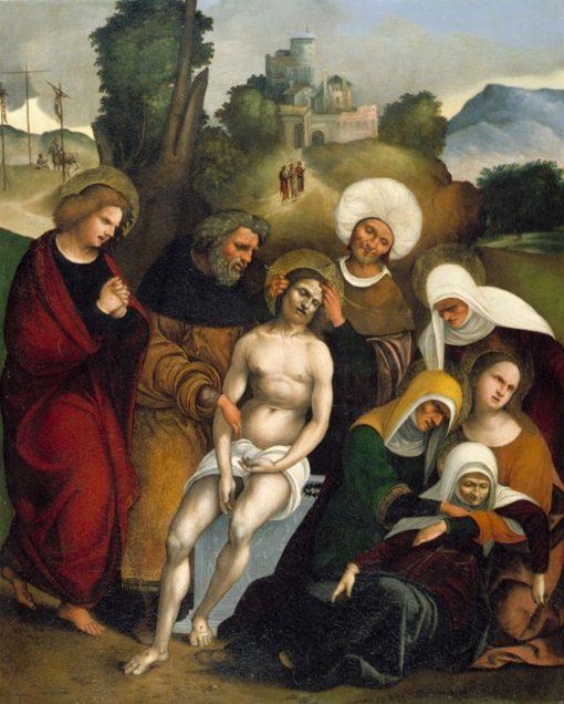 The Lamentation | Ludovico Mazzolino | Oil Painting