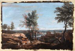 Extensive Pastoral Landscape | Marco Ricci | Oil Painting