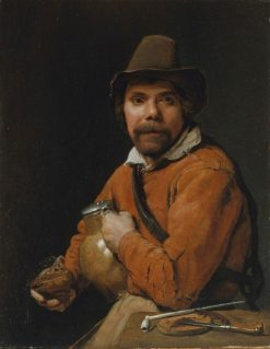 Man Holding a Jug | Michiel Sweerts | Oil Painting