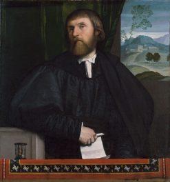 Portrait of a Man | Moretto da Brescia | Oil Painting