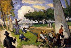 The Fishermen (Fantastic Scene) | Paul CEzanne | Oil Painting
