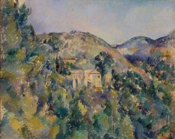 View of the Domaine Saint-Joseph | Paul CEzanne | Oil Painting
