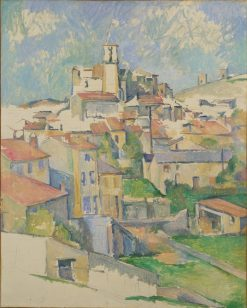 Gardanne | Paul CEzanne | Oil Painting