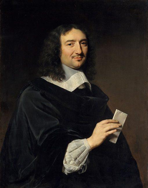 Portrait of Jean Baptiste Colbert (1619-1683) | Philippe de Champaigne | Oil Painting
