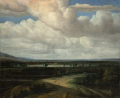 A Panoramic Landscape with a Country Estate | Philips Koninck | Oil Painting