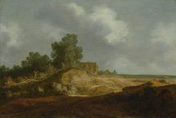 Landscape with a Cottage | Pieter de Molijn | Oil Painting