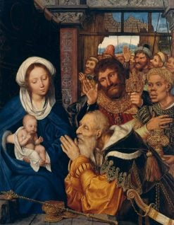 The Adoration of the Magi | Quentin Massys | Oil Painting