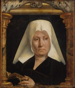 Portrait of a Woman with Prayer Book | Quentin Massys | Oil Painting