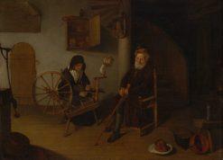 The Spinner | Quiringh van Brekelenkam | Oil Painting